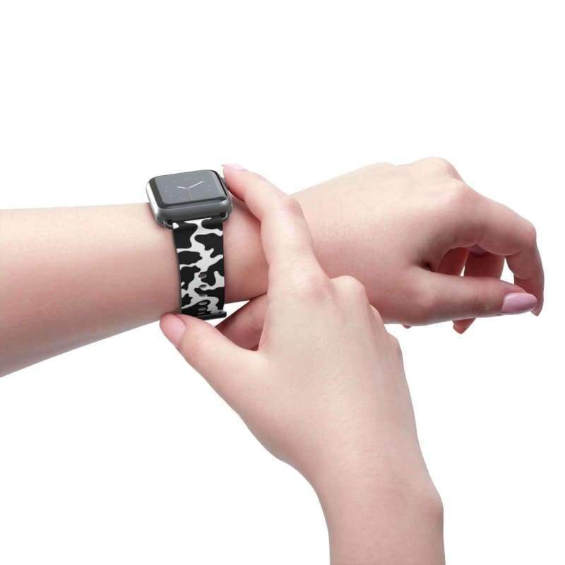 Glam Cow Print Apple Watch Band - Designs For Farmers