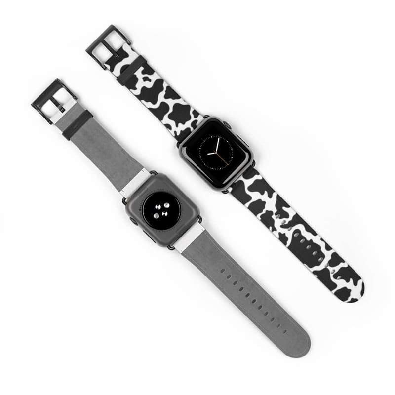 Glam Cow Print Apple Watch Band | Cow Loco