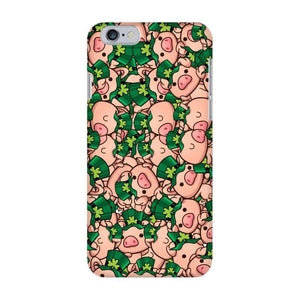 PIggie Paddy Fully Printed Matte Phone Case | Cow Loco
