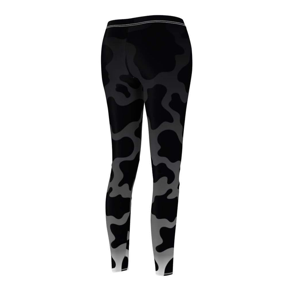 Gradient Cow Print Leggings | Cow Loco