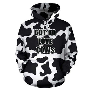 The Original Cow Hoodie | Cow Loco