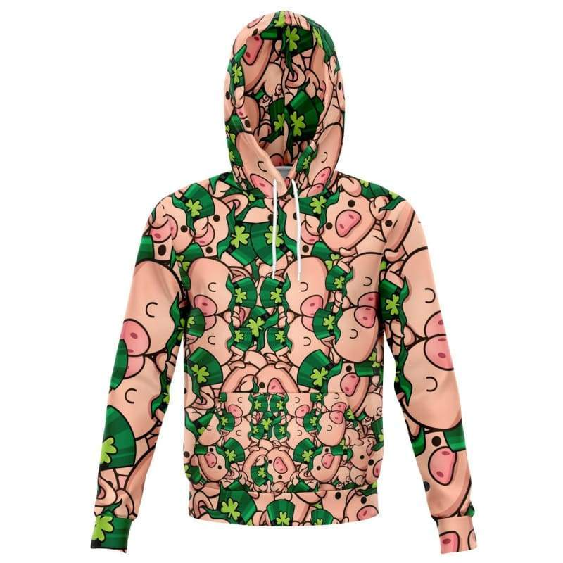 St Paddy Piggy Hoodie | Cow Loco