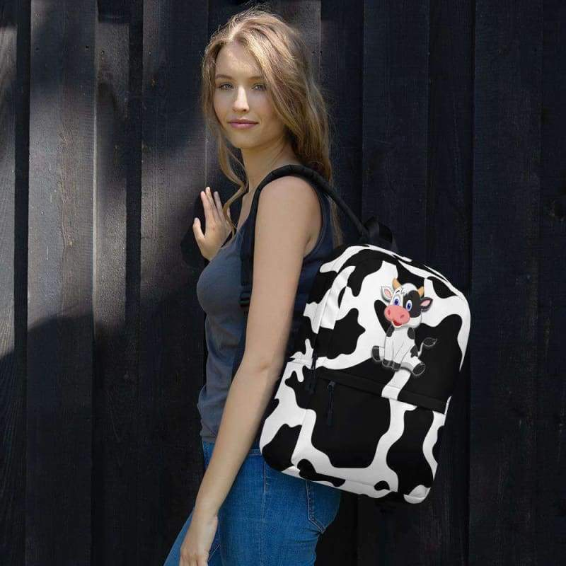 Fantasia Cow Print Backpack - Designs For Farmers