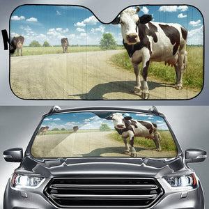 Beautiful Cow Sun Shade | Cow Loco