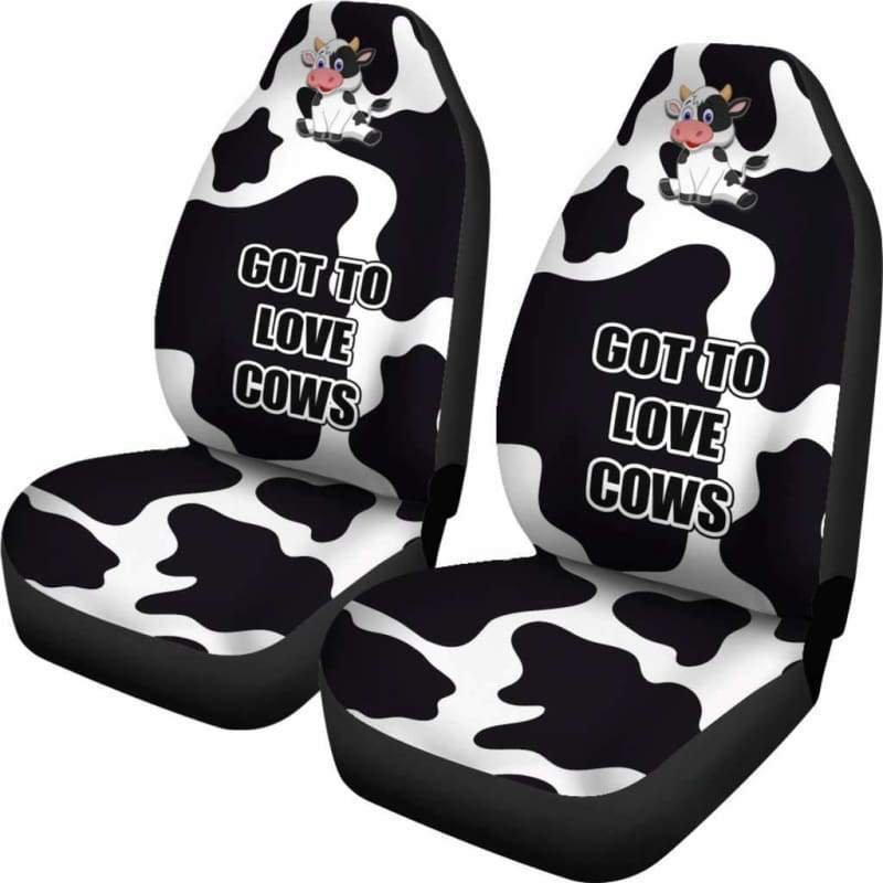 Cow Car Seat Cover (Set of 2) | Cow Loco