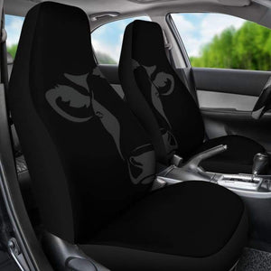 Cow Head Centered Car Seat Covers (Set of 2) | Cow Loco