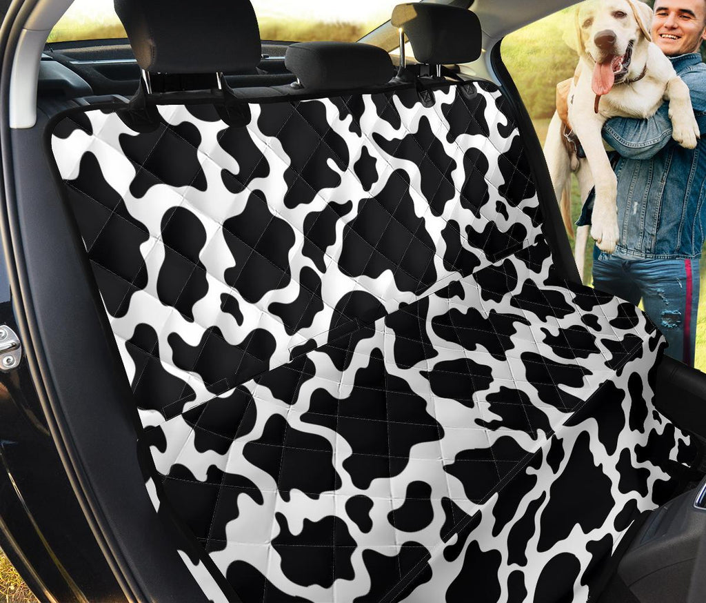 Cow Print Pet Seat Cover - Designs For Farmers