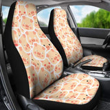 Pig Pattern Car Seat Cover (Set of 2) | Cow Loco