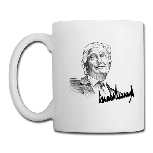 Trump Signature Coffee Mug 11oz | Cow Loco