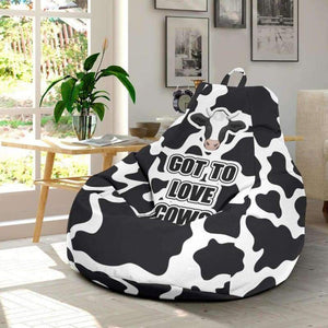Cool Cow Bean Bag Chair | Cow Loco