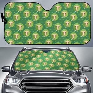 Cow Pattern Car Sun Shade | Cow Loco
