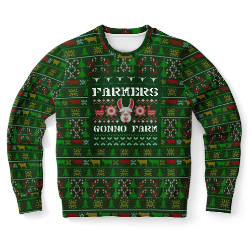 Farmers Gonno Farm Ugly Christmas Sweater