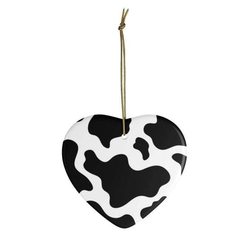Classic Cow Ceramic Ornaments | Cow Loco