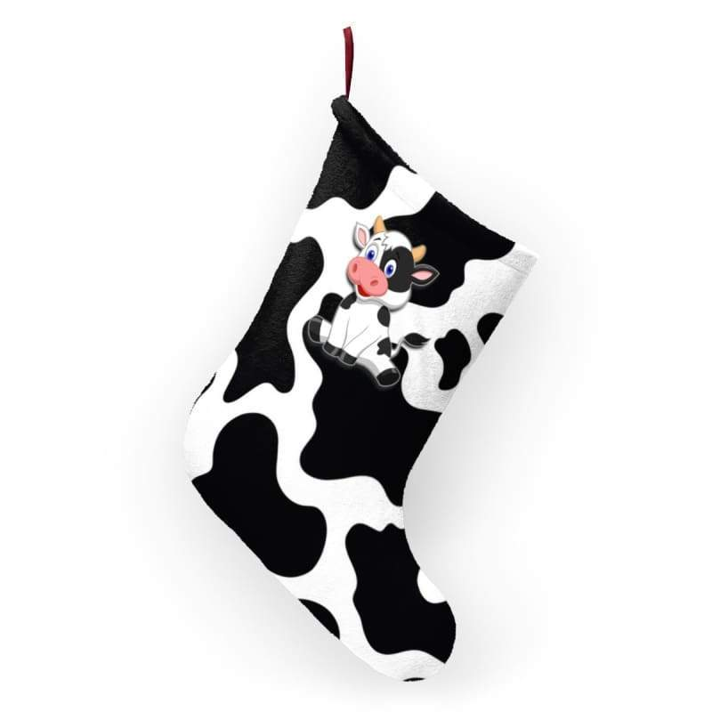 Cow Print Christmas Stockings | Cow Loco