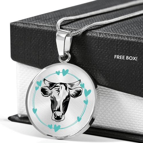 Personalized Cow Luxury Necklace