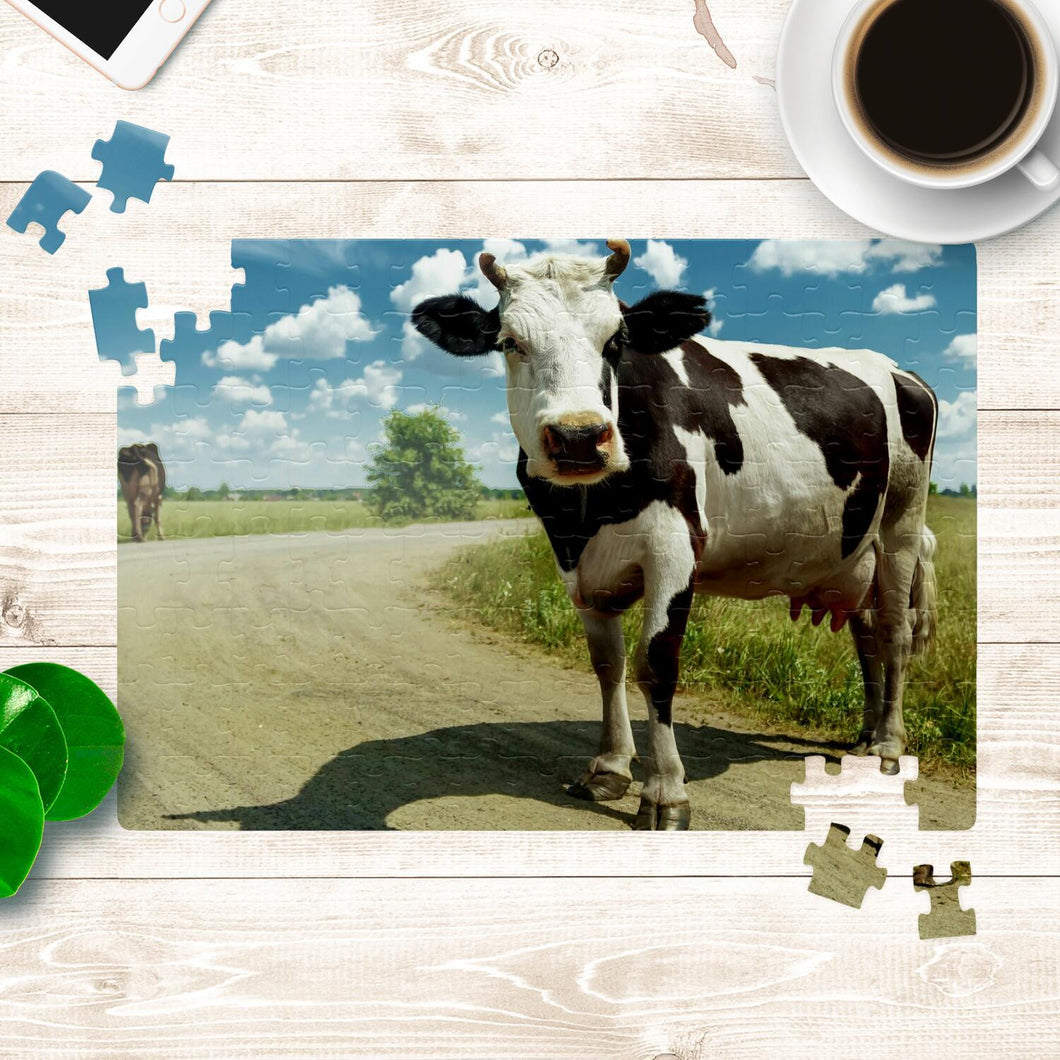 Cow Jigsaw Puzzle | Cow Loco