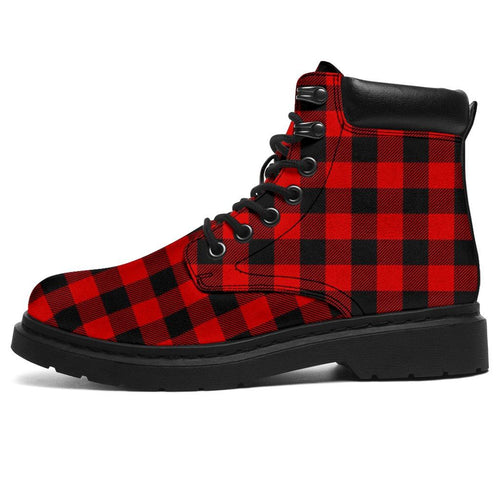Lumberjack Plaid All Weather Boots | Cow Loco