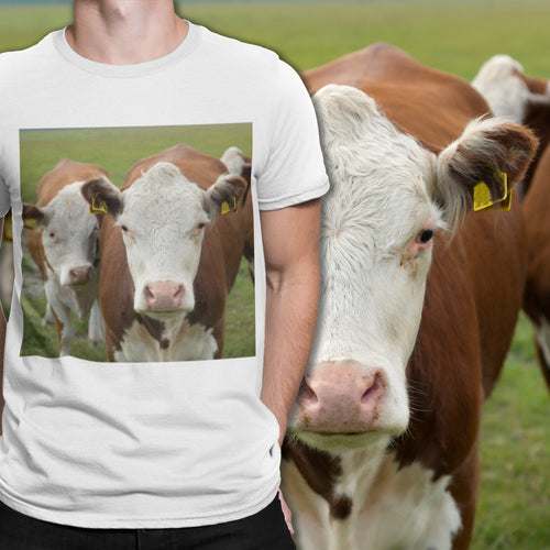 Personalized Cow T-Shirt | Cow Loco