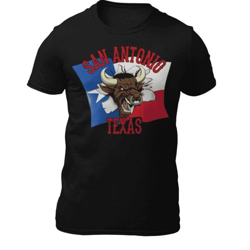 San Antonio T-Shirt | Cow Loco