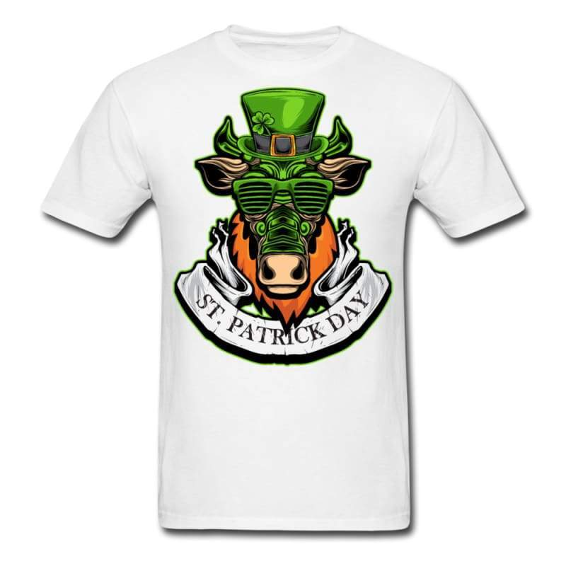 St Patricks Day Bull T-shirt | Cow Loco