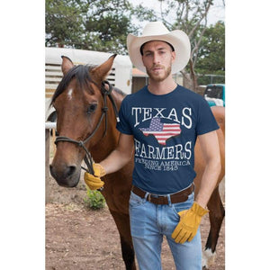 Texas Farmer T-Shirt | Cow Loco