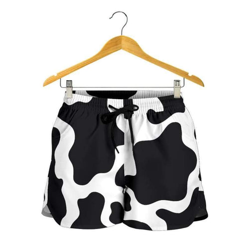 Cow Print Womens Shorts | Cow Loco