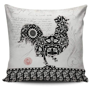 Country Farm Life Collection - Chicken Pillow Cover | Cow Loco