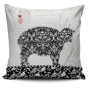 Country Farm Life Collection - Sheep Pillow Cover | Cow Loco
