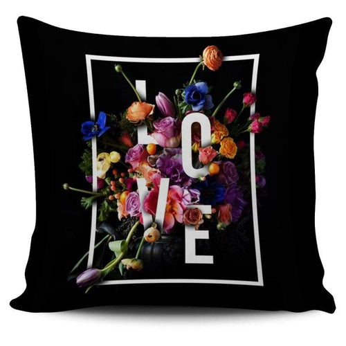 Love Floral Cushion Cover | Cow Loco