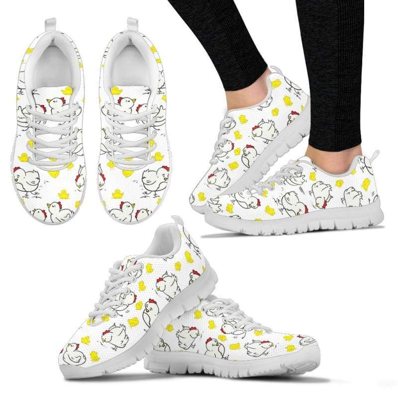 Chicken Lady Women's Sneakers | Cow Loco