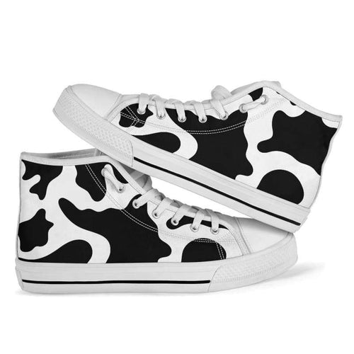 High and Low Top Sneakers | Cow Loco