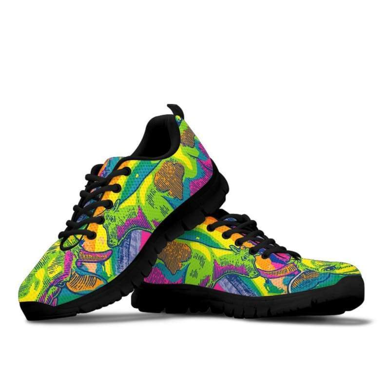 Psychedelic Cow Sneakers | Cow Loco