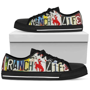 Ranch Life Low Top Shoes | Cow Loco