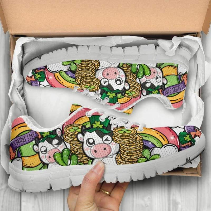 St Piggy Day Sneakers | Cow Loco