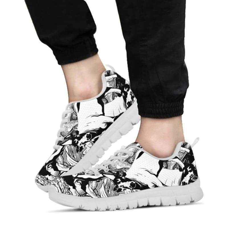 Stylish Cow Pile Sneakers | Cow Loco