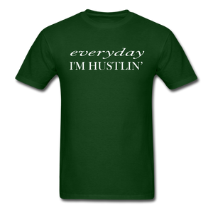 Hustlin T-Shirt - forest green