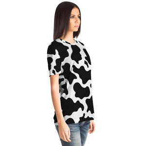 Premium Cow Print All Over T-Shirt | Cow Loco