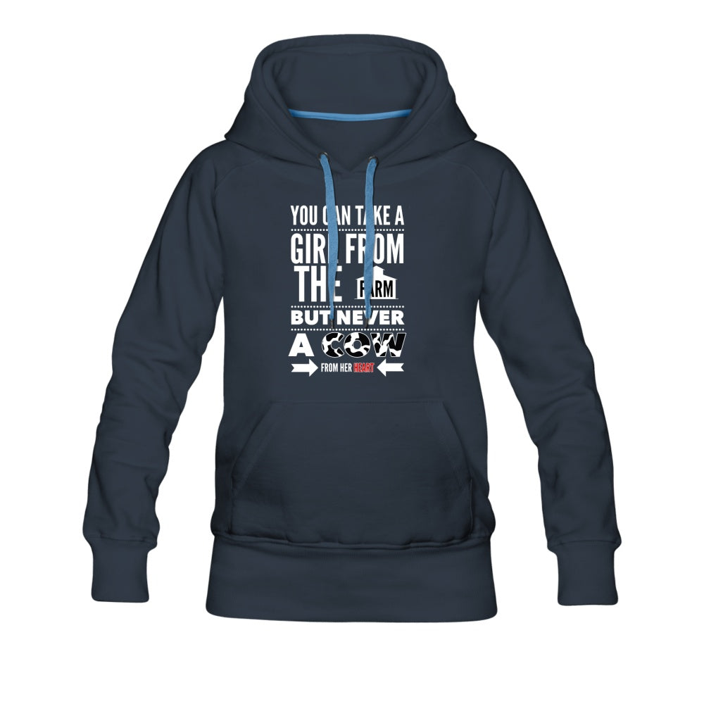Farmer's Daughter Premium Hoodie - navy
