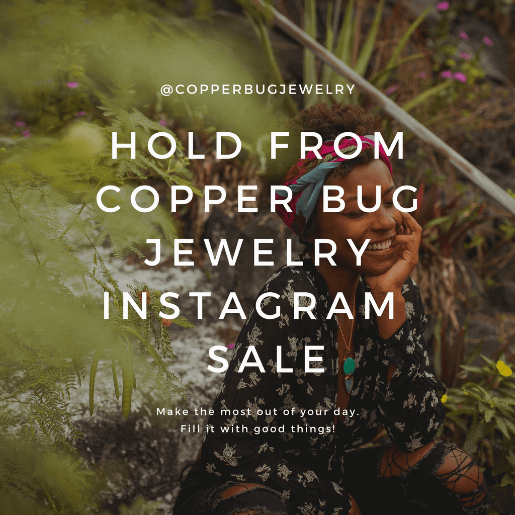 Necklace for @hannahl0ve9 Copper Bug Jewelry