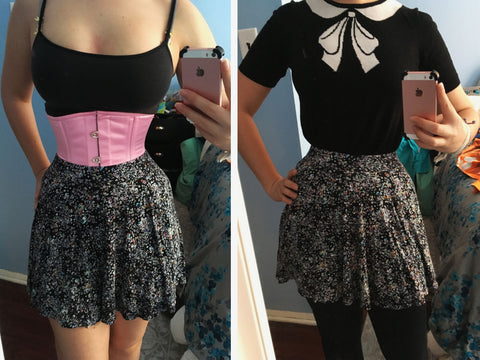 waist training corset for tight lacing