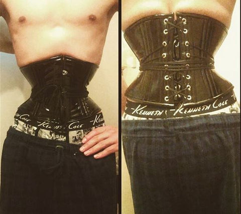 Made to measure male corset