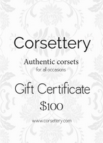 Gift Card - Corsettery Authentic Corsets USA