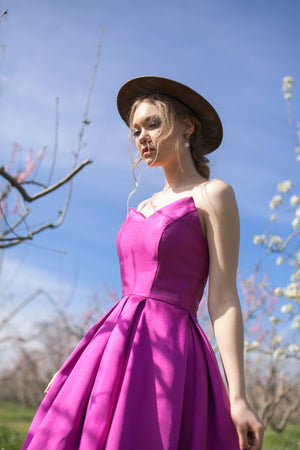 Satin Dress with different length #5146. Dress for prom, wedding, bridesmaids, photoshoots
