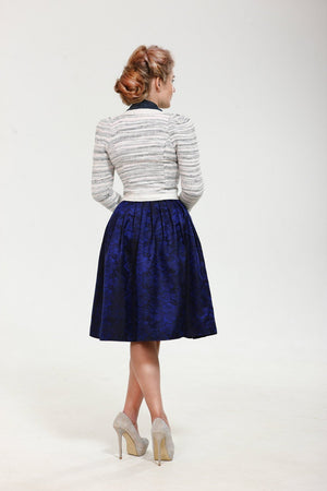 Simply Gorgeous! Exclusive full shaped skirt till knees