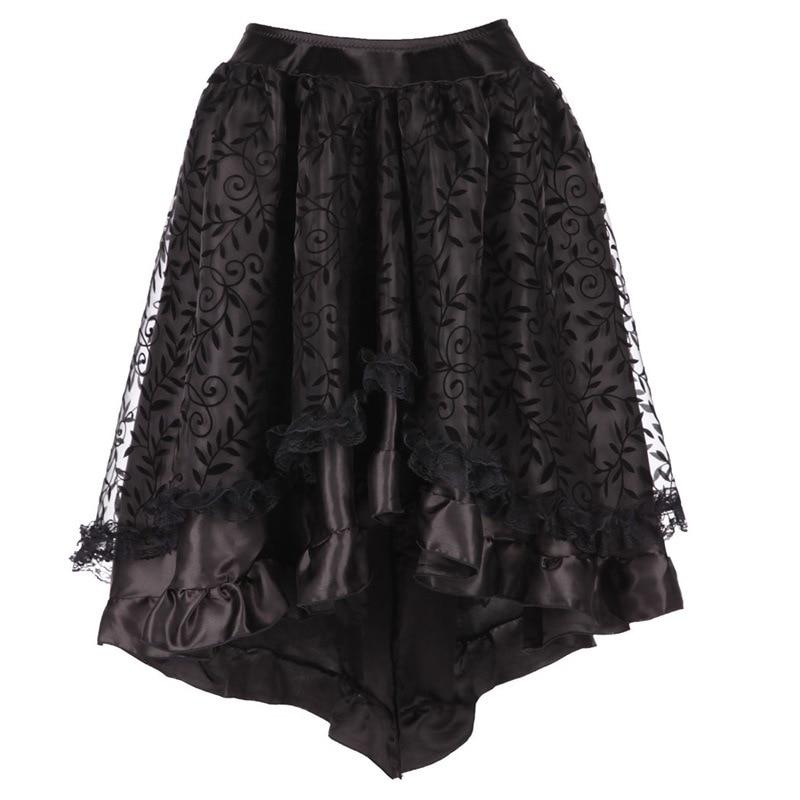 Midi Steampunk or Gothic Tutu Skirt for Women, different colors