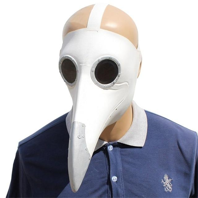 Plague Doctor Cosplay Costumes Steampunk Bird Mask Costume