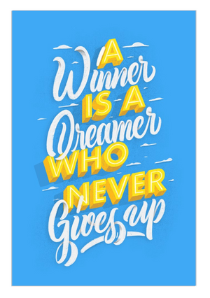 Winners are Dreamers