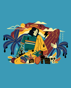 Tropical Surfer Saint