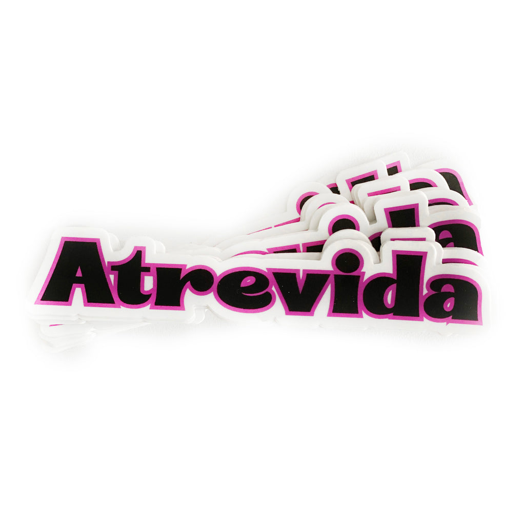 'Atrevida' Die Cut Vinyl Sticker