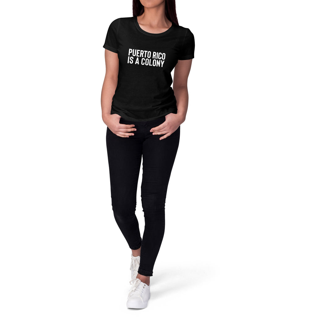Puerto Rico Short Sleeve Tee for Women